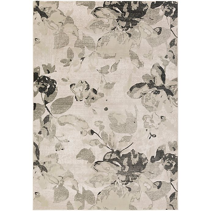 Alternate image 1 for Surya Allegro Wispy Floral 2-Foot 2-Inch x 3-Foot Accent Rug in Khaki