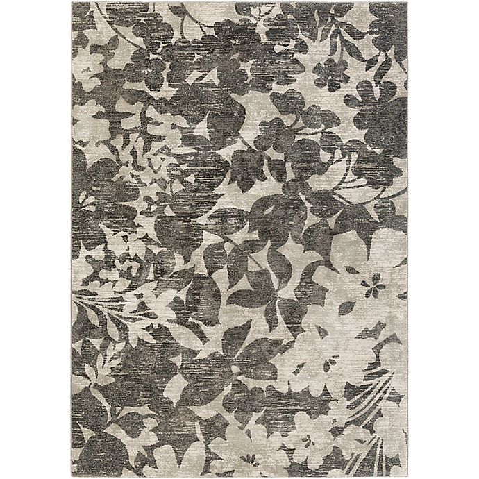 Alternate image 1 for Surya Allegro 2-Foot 2-Inch x 3-Foot Accent Rug in Black