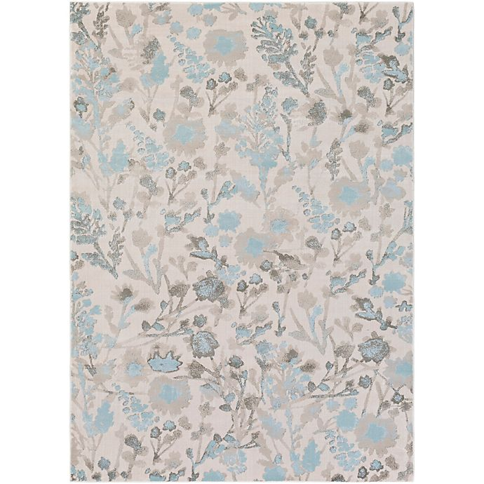 Alternate image 1 for Surya Allegro 2-Foot 2-Inch x 3-Foot Accent Rug in Blue