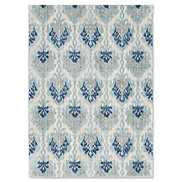 Surya Fenalun Global Rug in Dark Blue