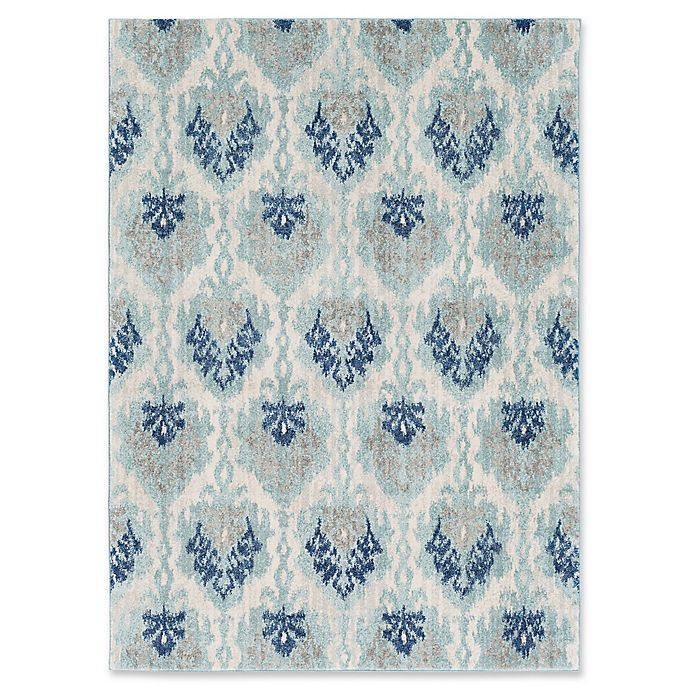 Alternate image 1 for Surya Fenalun Global 3-Foot 11-Inch x 5-Foot 7-Inch Area Rug in Teal