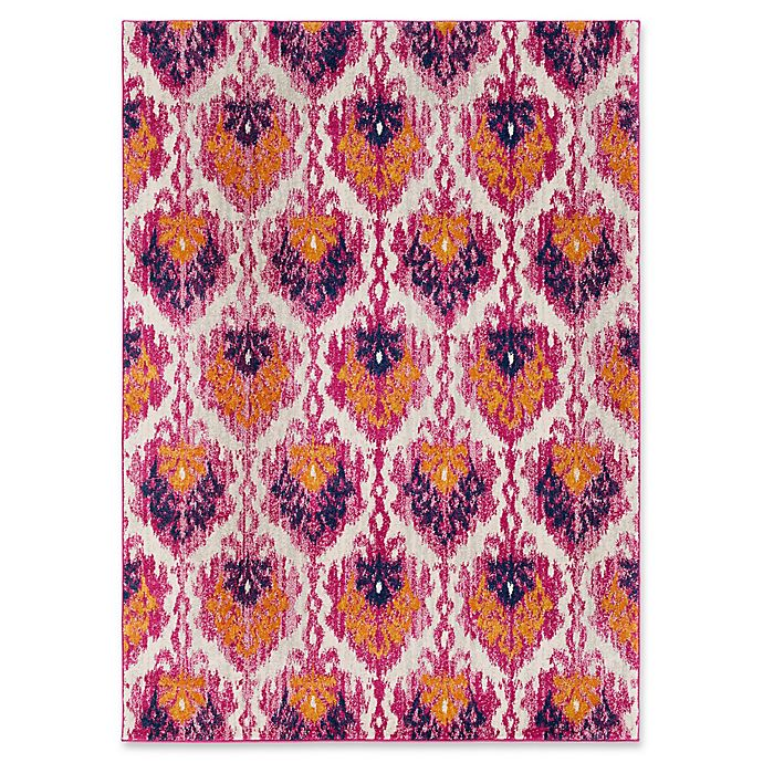 Alternate image 1 for Surya Fenalun Global 3-Foot 11-Inch x 5-Foot 7-Inch Area Rug in Pink