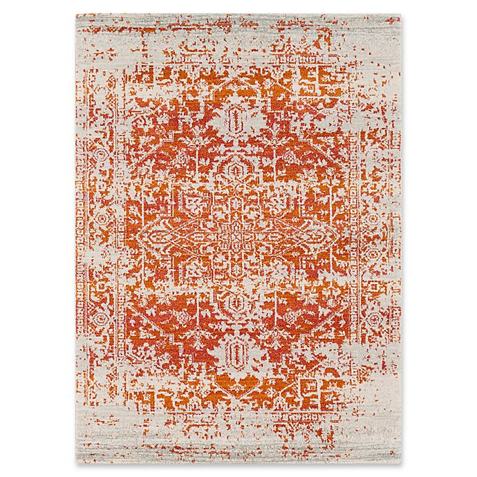Alternate image 1 for Surya Fenalun 3-Foot 11-Inch x 5-Foot 7-Inch Area Rug in Orange