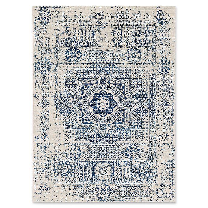 Alternate image 1 for Surya Fenalun 3-Foot 11-Inch x 5-Foot 7-Inch Area Rug in Dark Blue
