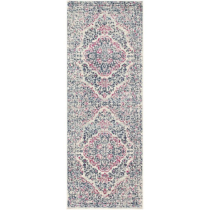 Alternate image 1 for Surya Fenalun Classic 2-Foot 7-Inch x 7-Foot 3-Inch Runner in Light Grey