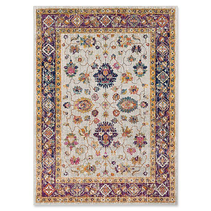 Alternate image 1 for Surya Fenalun Wide-Border Floral Rug