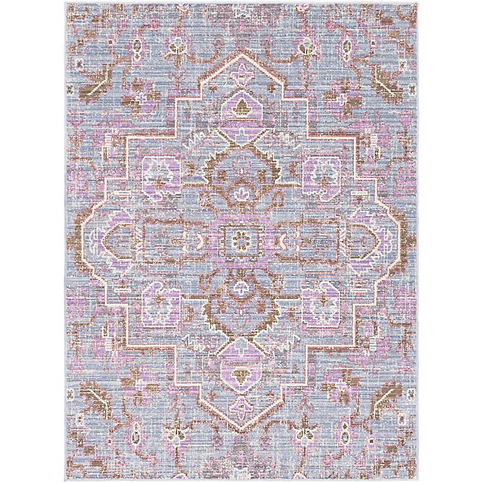 Alternate image 1 for Surya Dynine 3-Foot 11-Inch x 5-Foot 7-Inch Rug in Purple