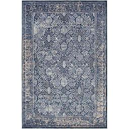 Surya 8-Foot 10-Inch x 10-Foot 3-Inch Rosaline Classic Area Rug in Blue/Grey