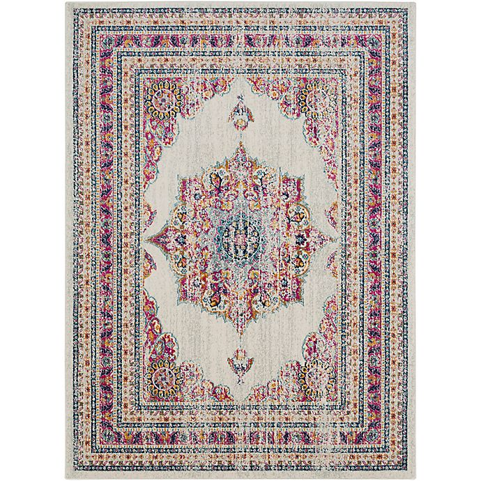 Alternate image 1 for Surya Fenalun 2-Foot x 3-Foot Accent Rug in Pink