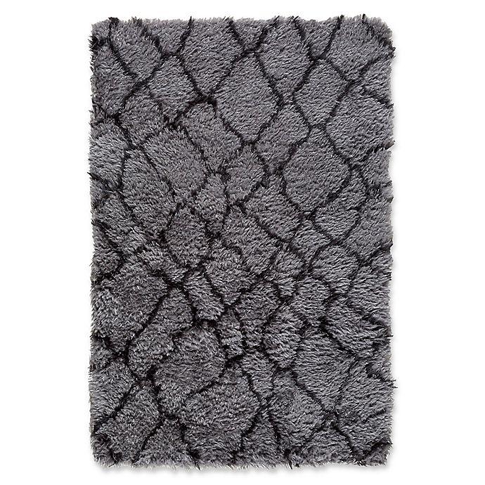 Alternate image 1 for Surya Biscayne Global 584 5-Foot x 7-Foot 6-Inch Area Rug in Medium Grey