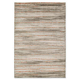 Surya Ladeen Modern56 5-Foot 2-Inch x 7-Foot 6-Inch Area Rug in Burnt Orange