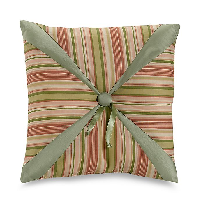 Alternate image 1 for Fiji Square Throw Pillow in Beige