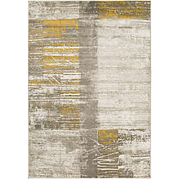 Surya Ladeen Modern859 7-Foot 6-Inch x 10-Foot 6-Inch Area Rug in Gold