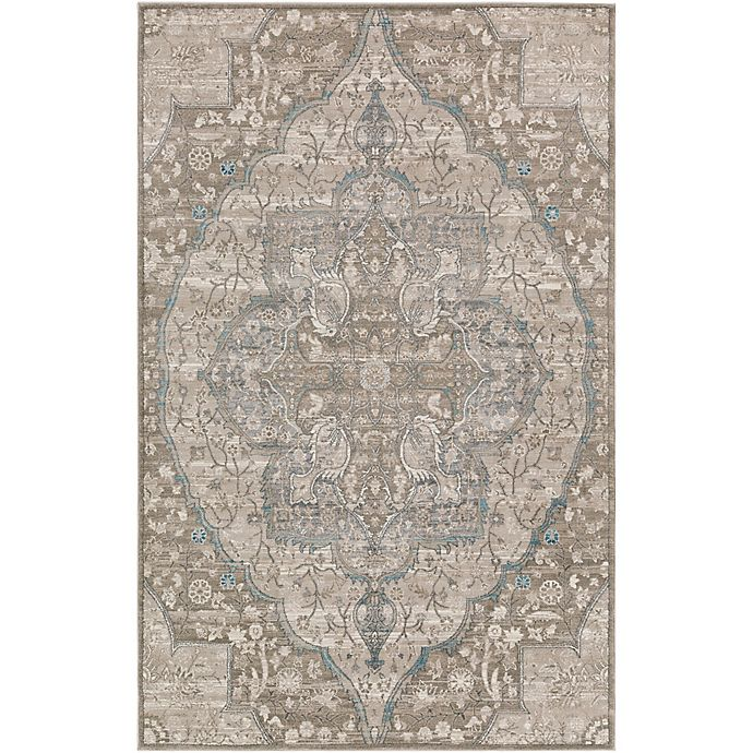 Alternate image 1 for Surya Calput Large Medallion 7-Foot 6-Inch x 9-Foot 6-Inch Area Rug in Taupe