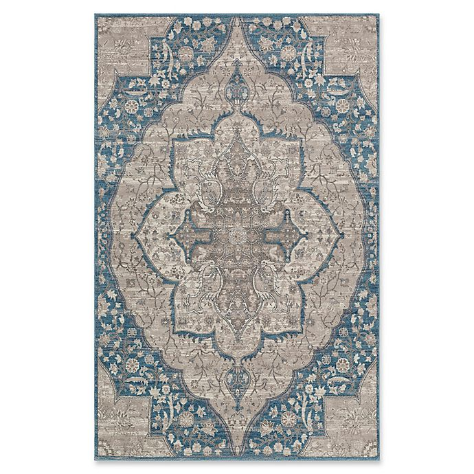 Alternate image 1 for Surya Calput Large Medallion 5-Foot x 8-Foot Area Rug in Taupe/Blue