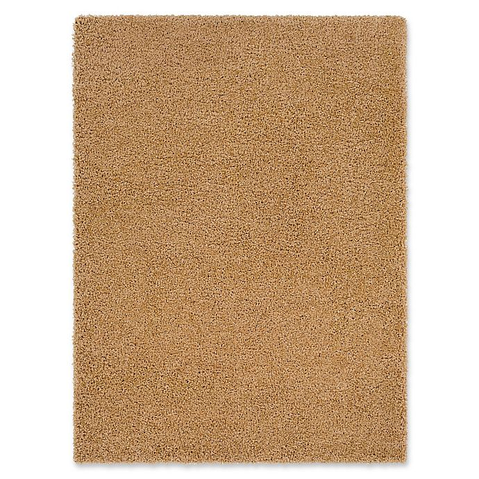 Alternate image 1 for Surya Sven 5-Foot 3-Inch x 7-Foot 3-Inch Shag Area Rug in Beige