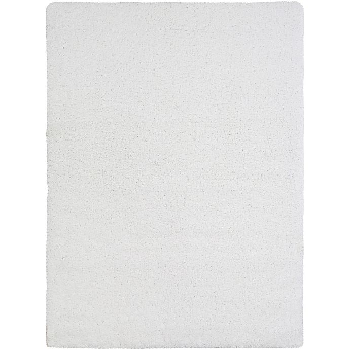 Alternate image 1 for Surya Sven 7-Foot 10-Inch x 10-Foot 3-Inch Shag Area Rug in White
