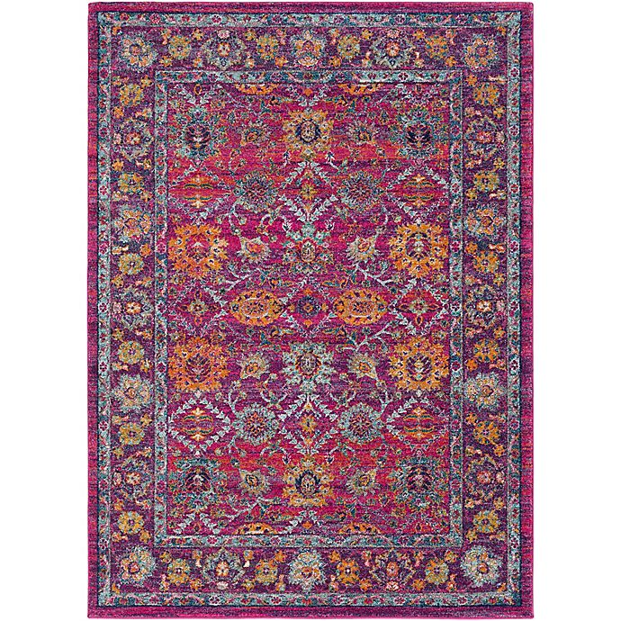 Alternate image 1 for Surya Fenalun 9-Foot 3-Inch x 12-Foot 6-Inch Rug in Pink