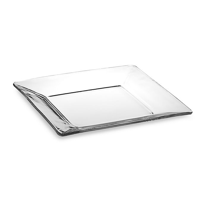 Alternate image 1 for Libbey® Tempo 10-Inch Square Glass Dinner Plate