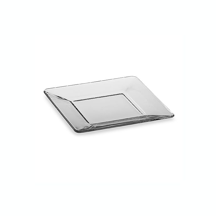 Alternate image 1 for Libbey® Tempo 8-Inch Square Glass Salad Plate