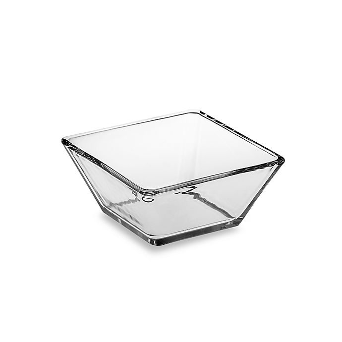 Alternate image 1 for Libbey® Tempo 5-1/2-Inch Square Glass Bowl