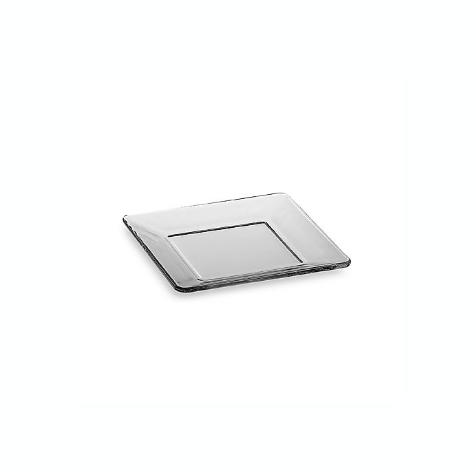 Alternate image 1 for Libbey® Tempo 6-Inch Square Glass Appetizer Plate