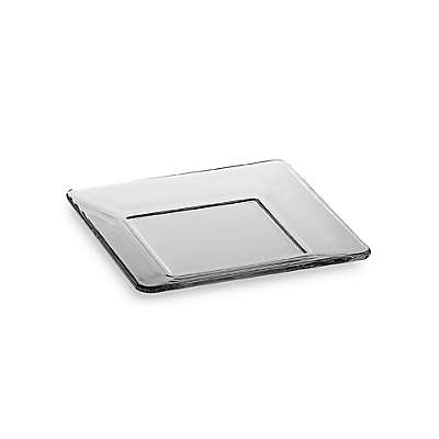 Libbey® Tempo 6-Inch Square Glass Appetizer Plate