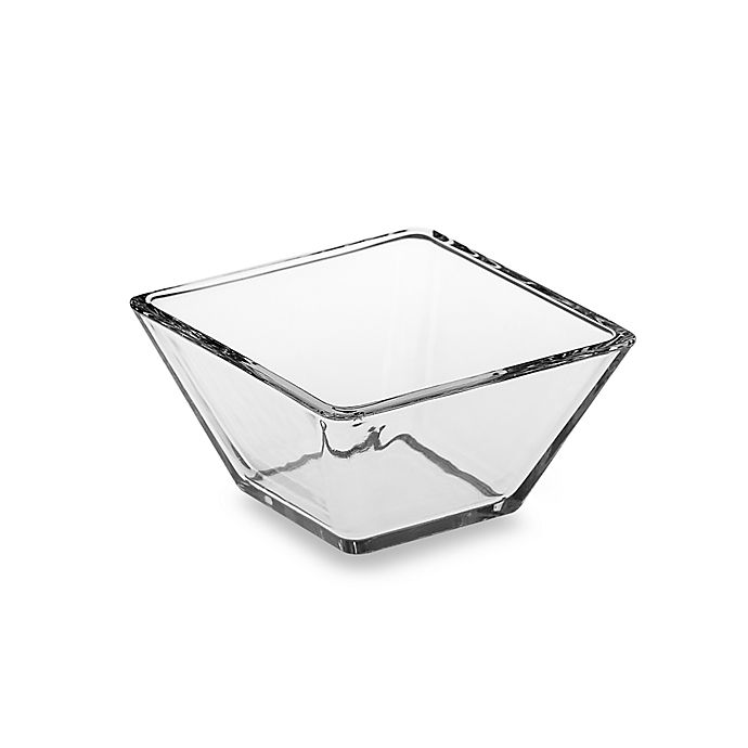 Alternate image 1 for Libbey® Tempo 4 1/4-Inch Square Glass Bowl