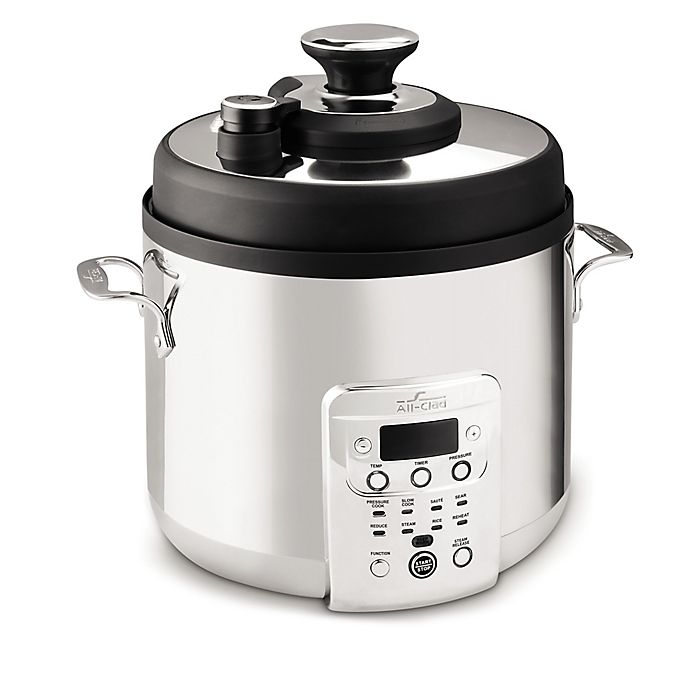 Alternate image 1 for All-Clad 6 qt. Electric Pressure Cooker