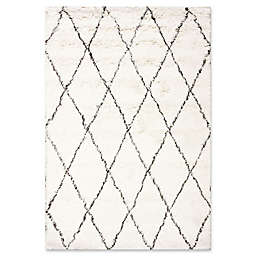 nuLOOM Urbanized Marrakech Shag 5-Foot x 7-Foot Area Rug in Ivory