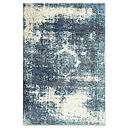 nuLOOM Traces Vintage Lindsy Rug in Blue
