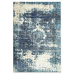 nuLOOM Traces Vintage Lindsy Rug in Blue