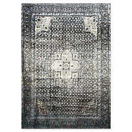 nuLOOM Traces Vintage Kellum Rug in Blue