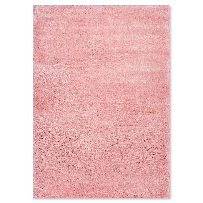 Alternate image 1 for nuLOOM Gynel Cloudy Shag 5'3 x 7'6 Shag Area Rug in Baby Pink