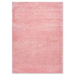 nuLOOM Gynel Cloudy Shag 5'3 x 7'6 Shag Area Rug in Baby Pink
