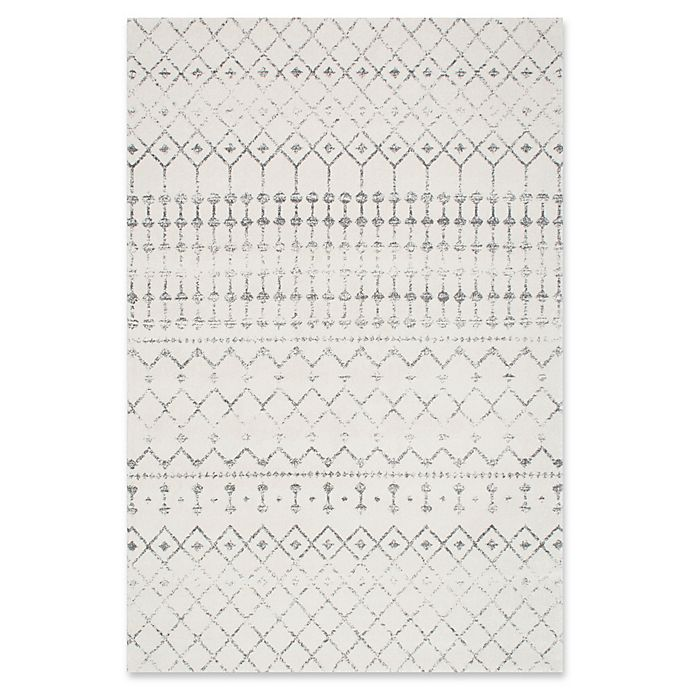 Alternate image 1 for nuLOOM 7'10x 10'10 Bodrum Area Rug in Grey