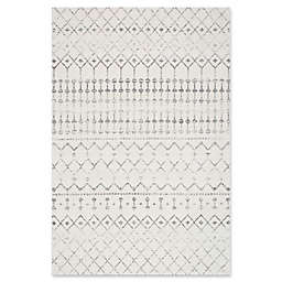 nuLOOM 7'10x 10'10 Bodrum Area Rug in Grey