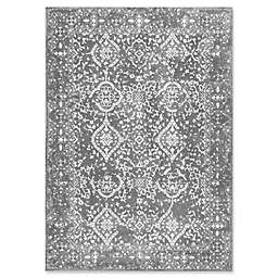 nuLOOM Bodrum Vintage Odell 2-Foot x 3-Foot Accent Rug in Silver