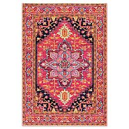 nuLOOM Bodrum Persian Vonda Rug in Pink