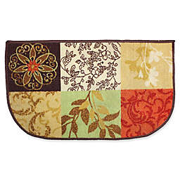 J&M Home Fashions 18-Inch x 30-Inch Tuscany Kitchen Slice Rug