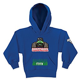 Monster Jam® Grave Digger® Pullover Hoodie in Blue