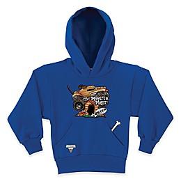 Monster Jam® Monster Mutt Pullover Hoodie in Blue