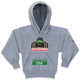 Monster Jam® Grave Digger® Pullover Hoodie in Grey
