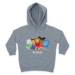 Daniel Tiger's Neighborhood™ Daniel Tiger and Pals Pullover Hoodie in Grey