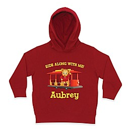 """Daniel Tiger's Neighborhood™ Daniel Tiger """"Ride Along with Me!"""" Pullover Hoodie in Red"""