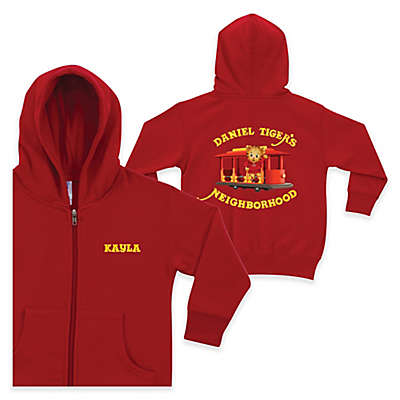 """Daniel Tiger's Neighborhood""™ Full-Zip Hoodie in Red"