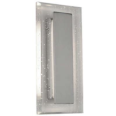 Royal Pane Seedy 1-Light Small Vanity in Satin Nickel