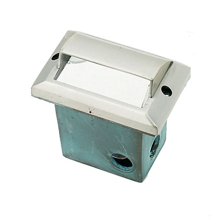 Alternate image 1 for Best Quality Lighting 1-Light Die-Cast Low-Voltage Step Light in Stainless Steel