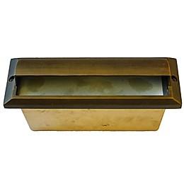 Best Quality Lighting Flush Mount Outdoor Step Light in Antique Bronze