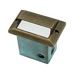 Best Quality Lighting Die-Cast LV59AB Outdoor Step Light in Antique Bronze